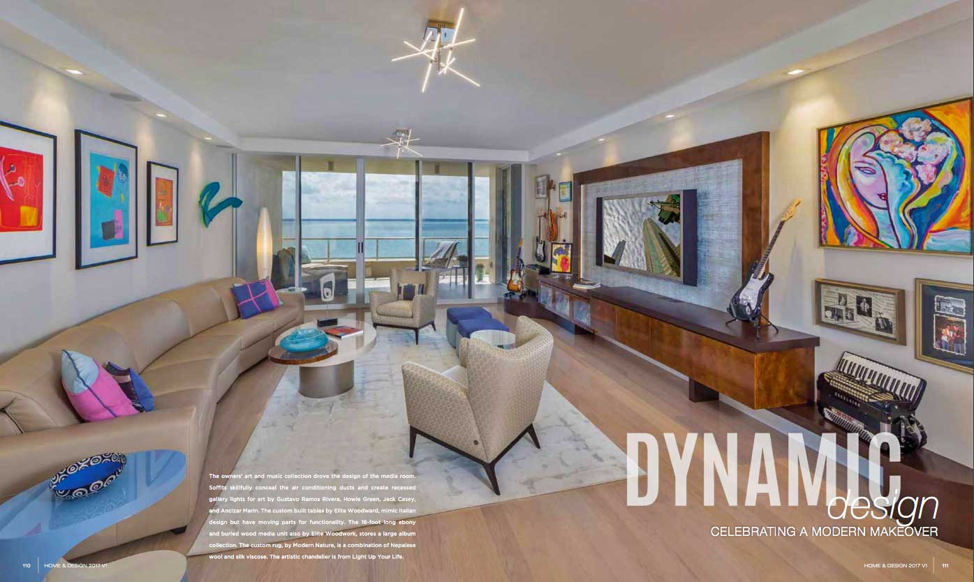 Home & Design - Jan 2017 - Dynamic Design