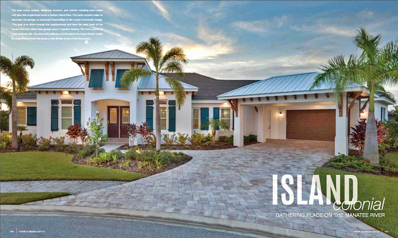 Home & Design - Jan 2017 - Island Colonial