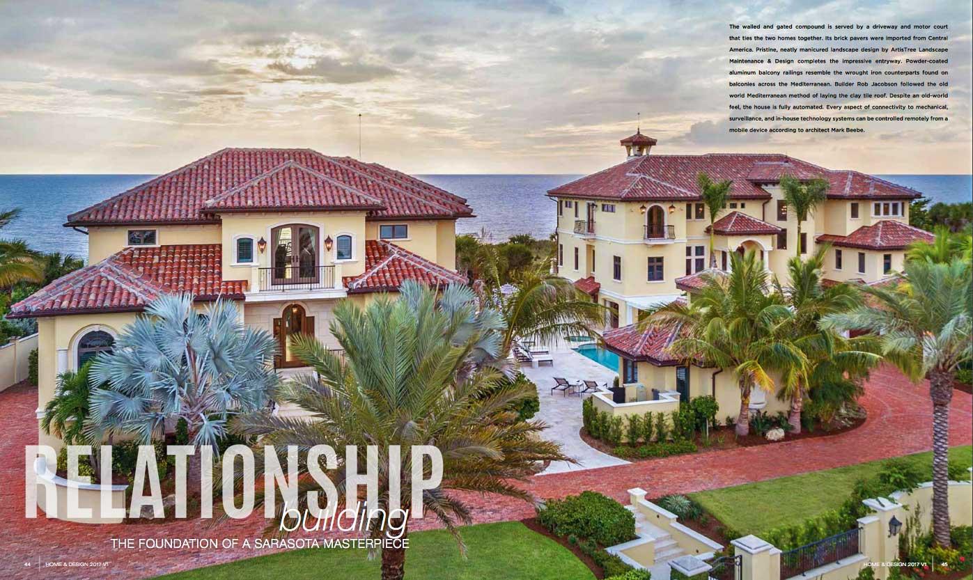 Home & Design - Jan 2017 - Relationship Building