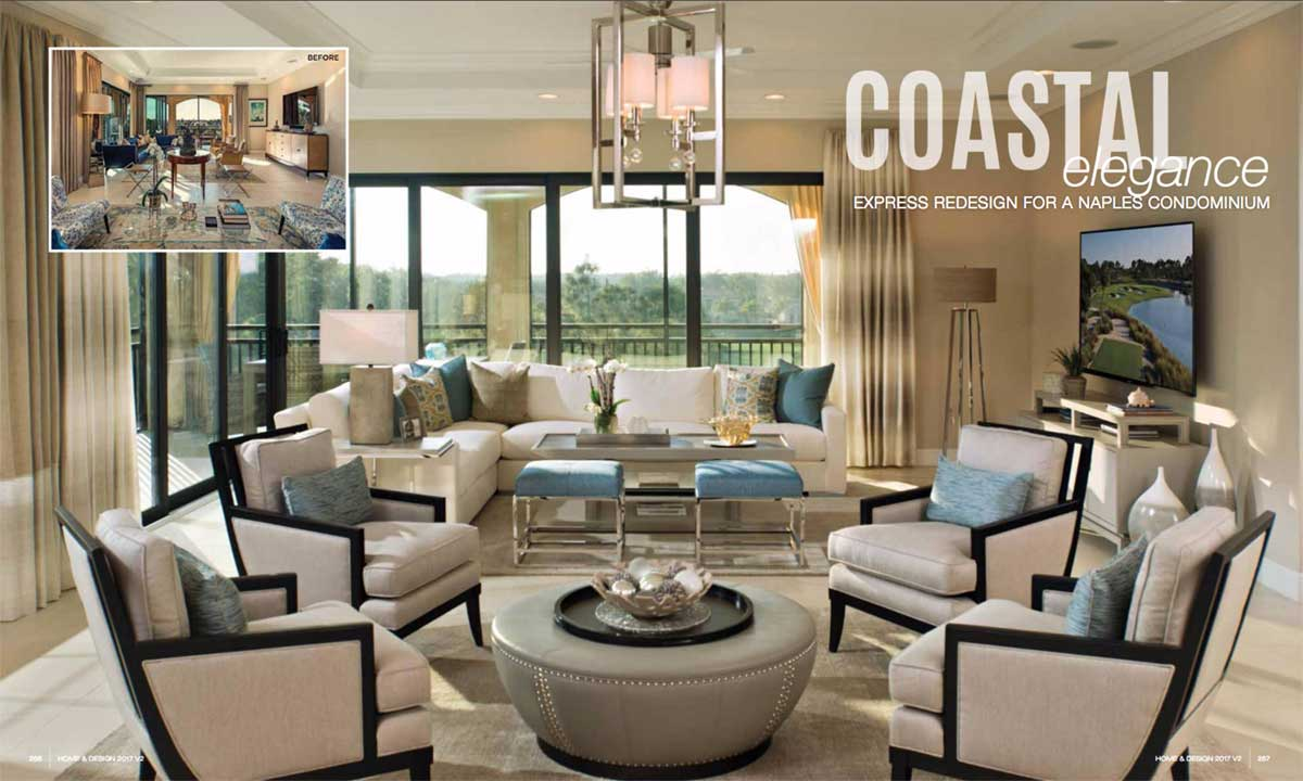Home & Design - May 2017 - Coastal Elegance