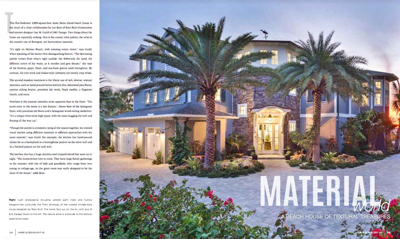 Home & Design - May 2017 - Material World