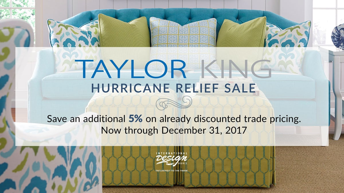 Taylor King Hurricane Relief Sale