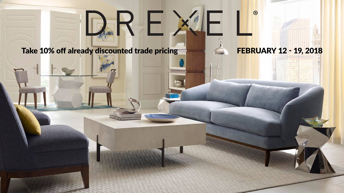 February 12-19, 2018: International Design Source's Drexel Sale