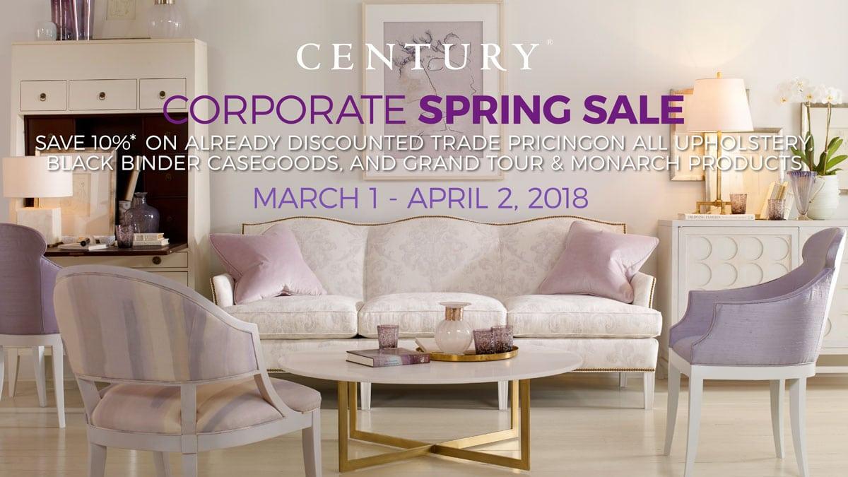 Century Corporate Spring Sale
