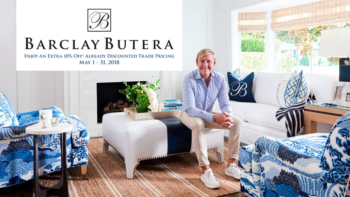 Barclay Butera Spring Sale at IDS