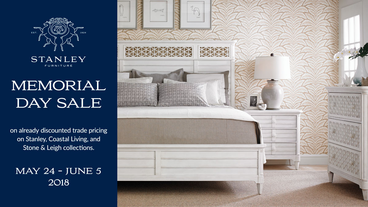 Stanley Furniture Memorial Day Sale