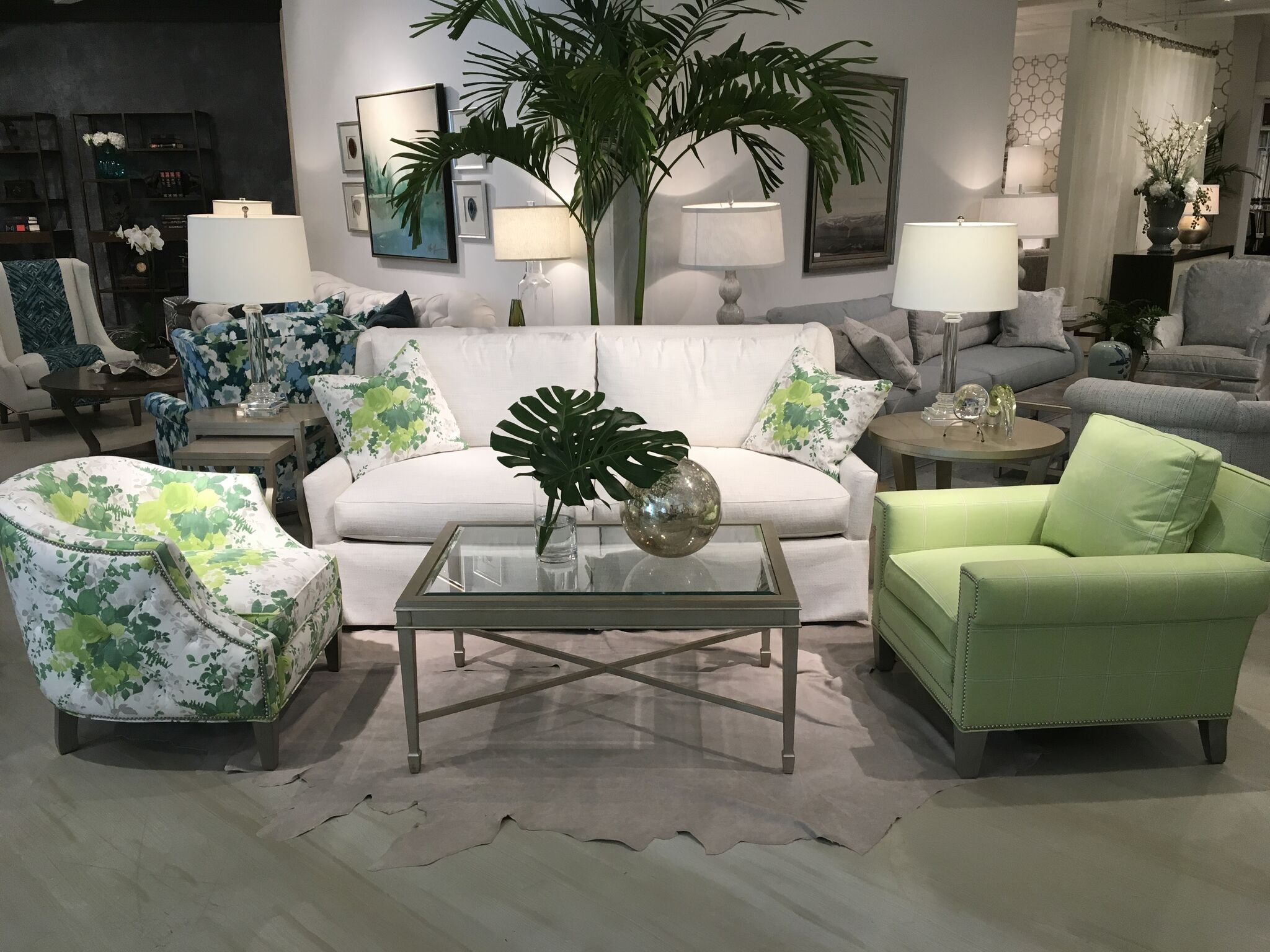 Sherrill Furniture sofa and chairs