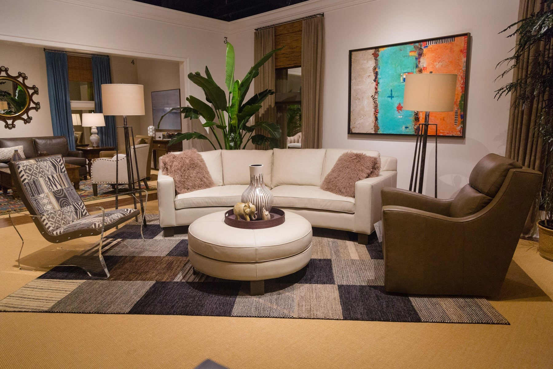 South Beach Sectional Setting Room 3-2