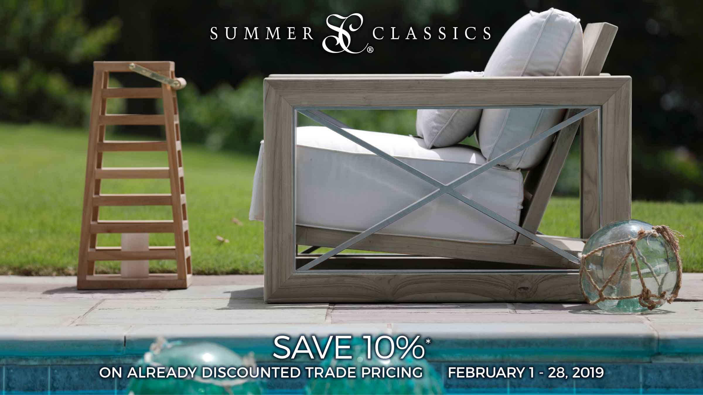 Summer Classics Sale throughout February 2019 at IDS