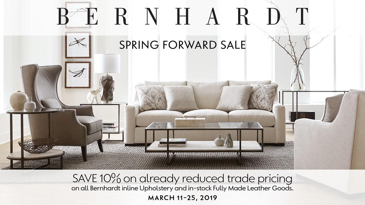 Bernhardt Spring Forward Sale at IDS March 11-25,2019