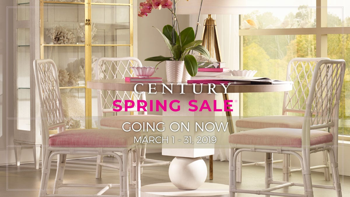 Century SPRING SALE GOING ON NOW MARCH 1 - 31, 2019 at IDS