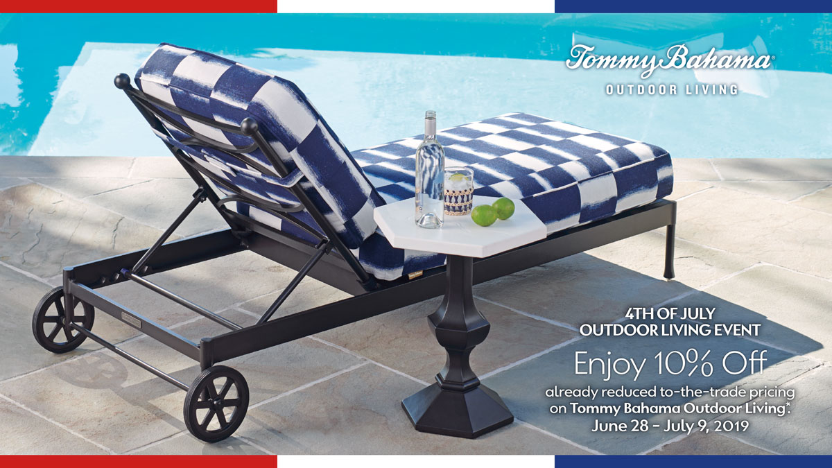 Tommy Bahama 4th of July Outdoor Living Event