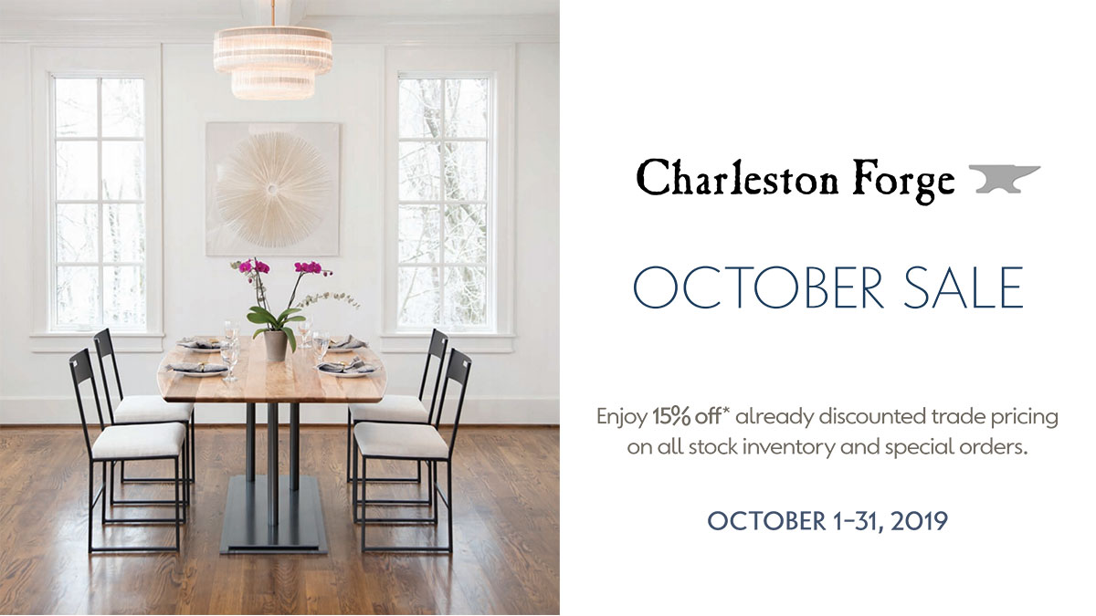 Charleston Forge October Sale at IDS