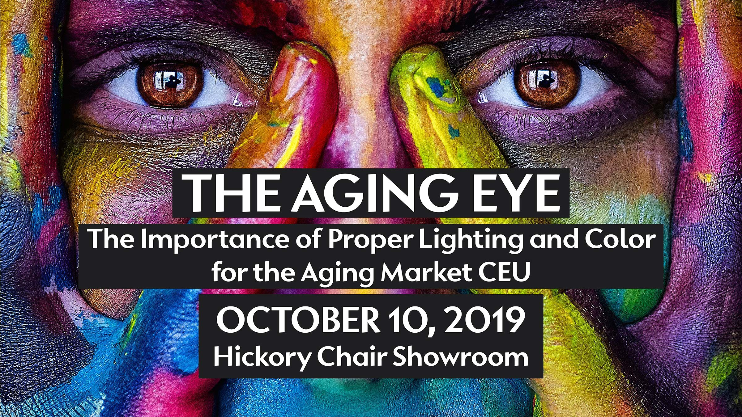 The Aging Eye CEU at IDS Hickory Chair Showroom on October 10, 2019.