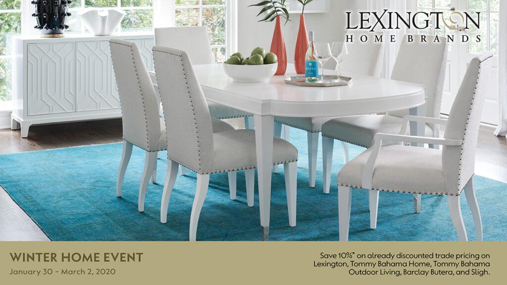 Lexington Home Brands Winter Home Event