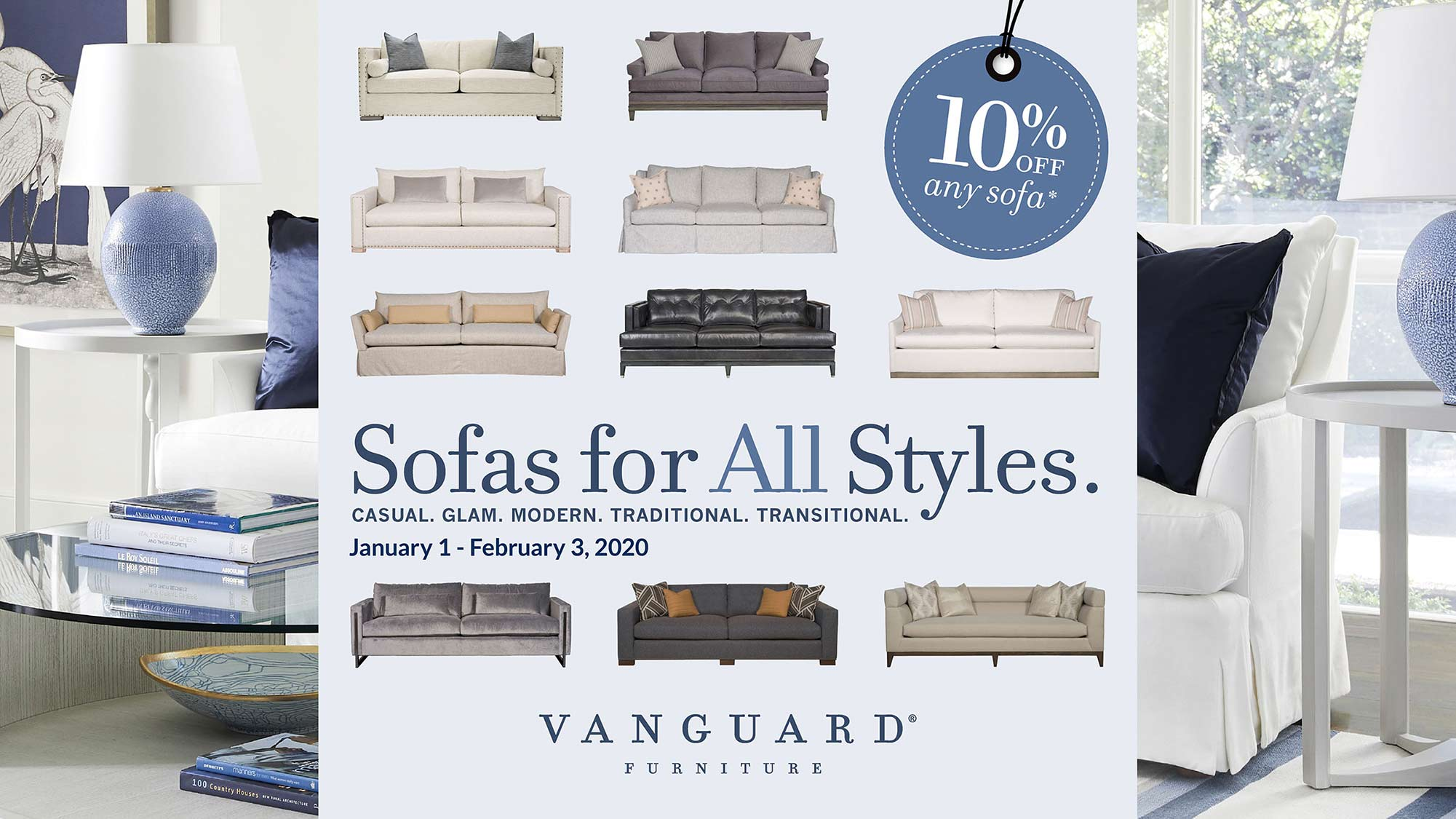 Vanguard Sofa Sale - January 2020