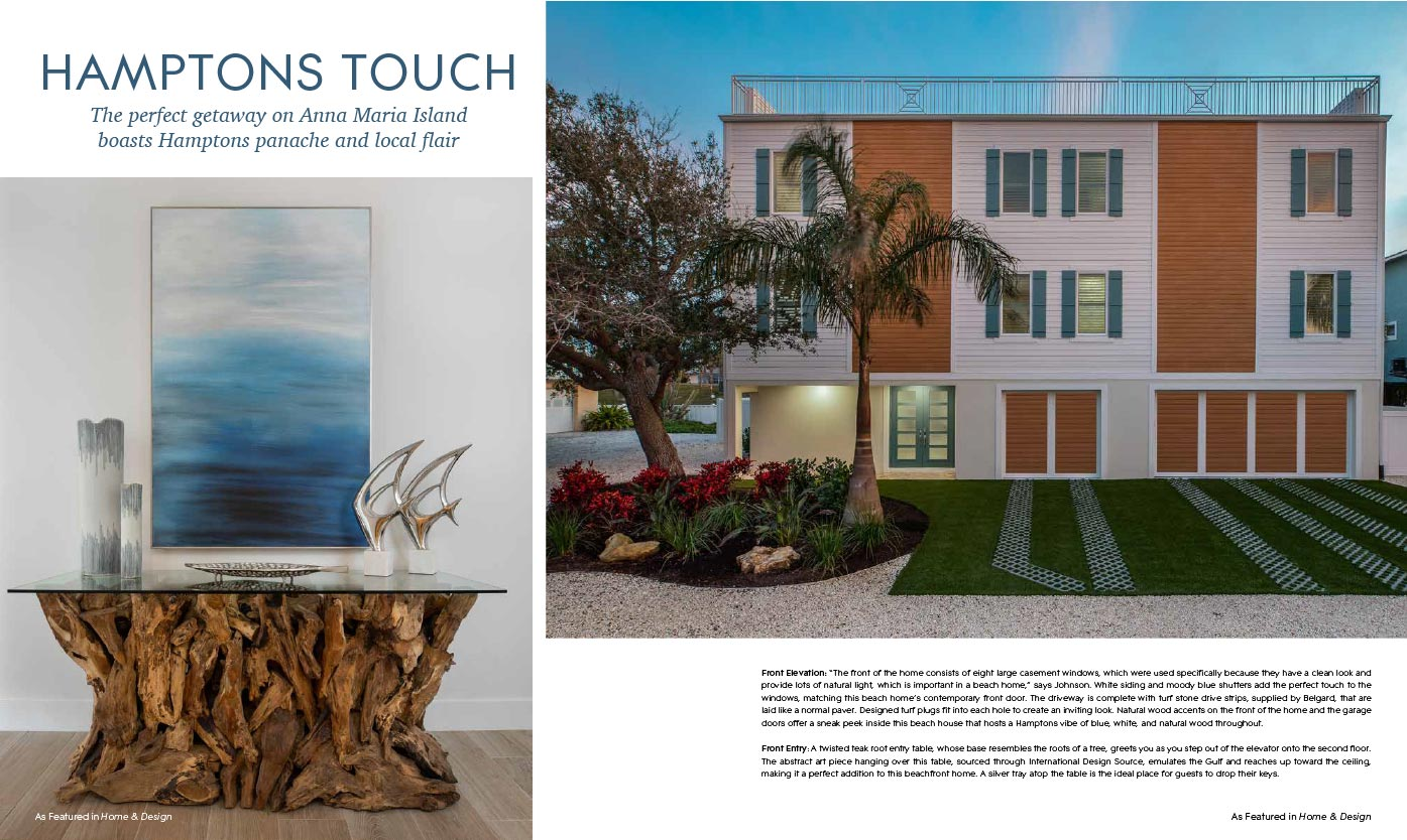 Home & Design Magazine - Feb 2021 - Hamptons Touch