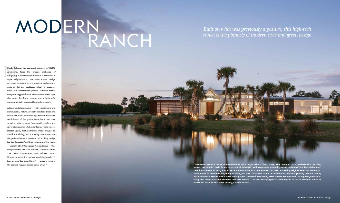 Home & Design Magazine - Feb 2021 - Modern Ranch