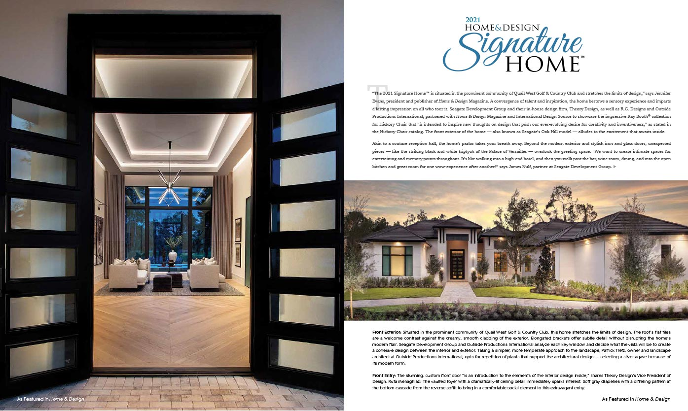 Home & Design Magazine - Feb 2021 - 2021 Signature Home