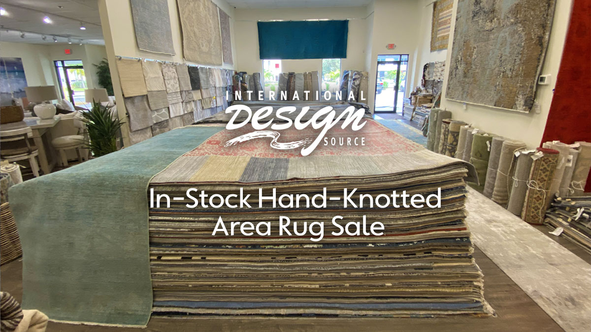 In-Stock Hand-Knotted Rug Sale at IDS Rug Galleries in Naples and Sarasota